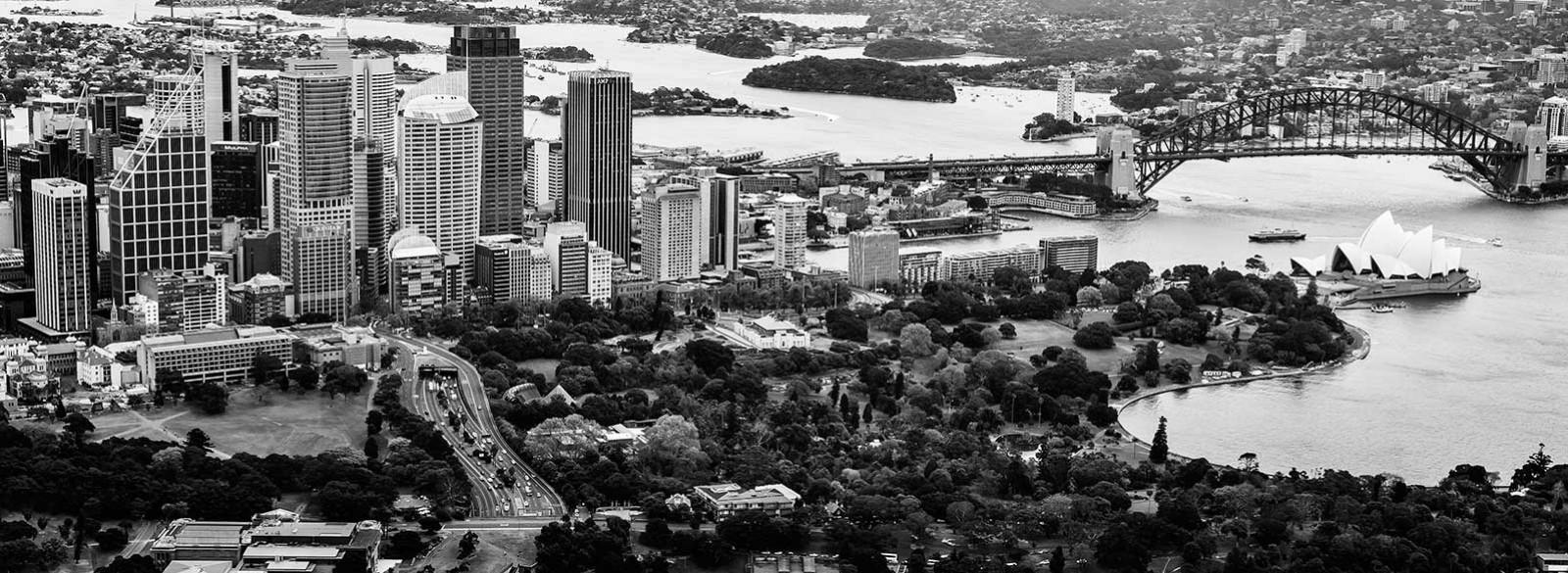 Photo Sydney harbor