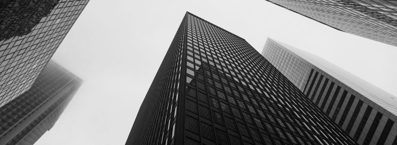 low angle photo of skyscrapers